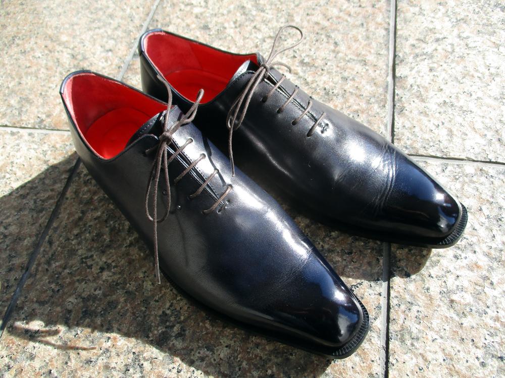 オーダーメイド 靴 染め替え