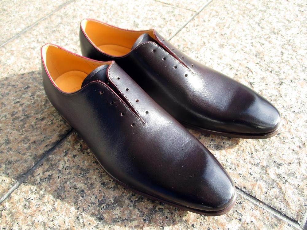 靴 染め替え