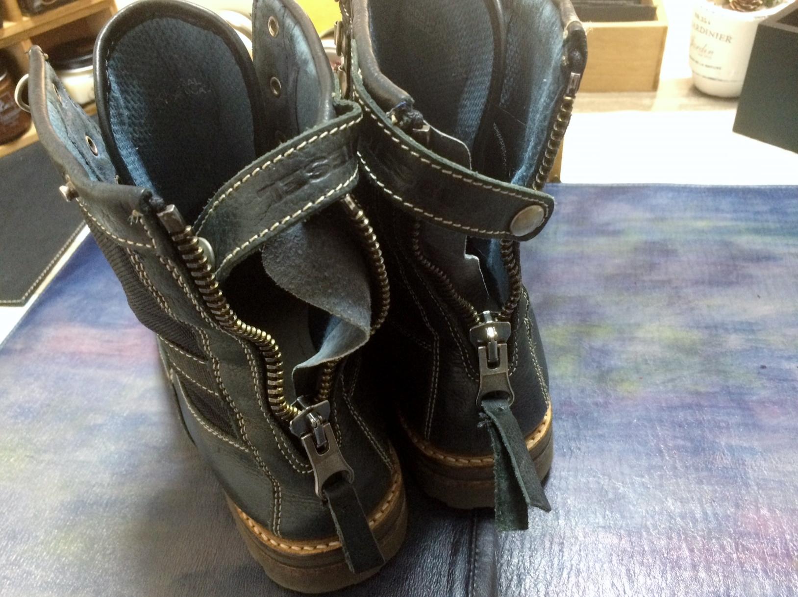 ディーゼル ブーツ 靴修理