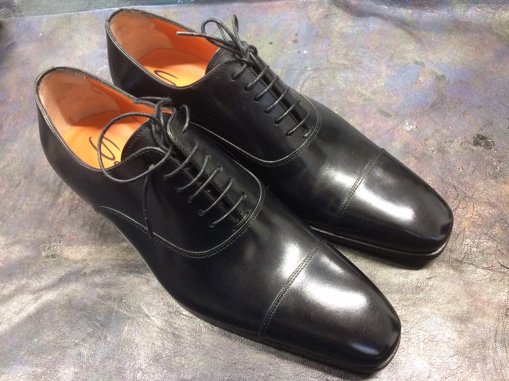 サントーニ イタリア製 革靴