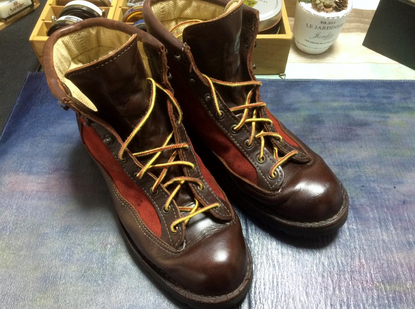 ブーツ カビ 丸洗いクリーニング After