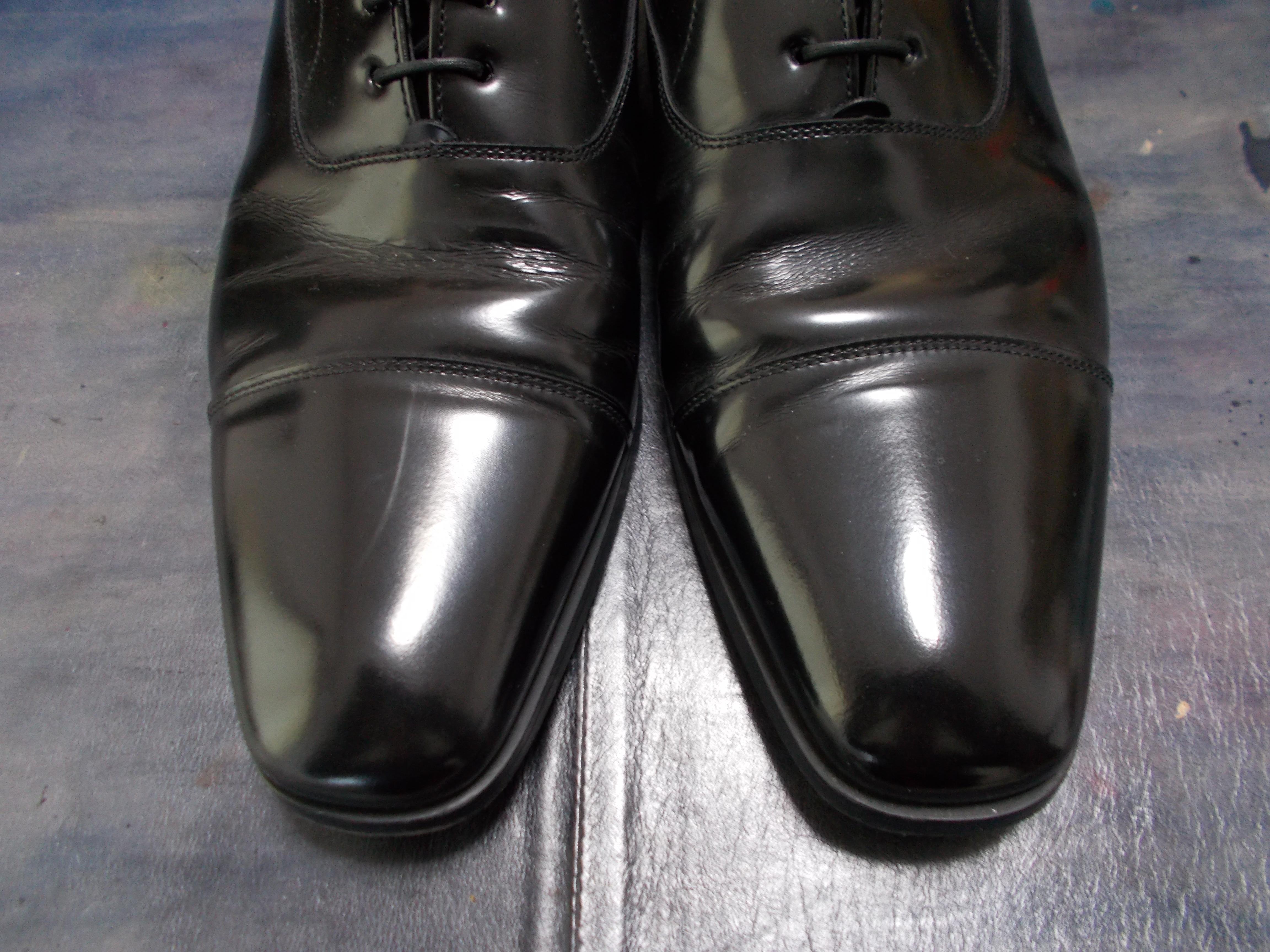 結婚式 靴磨き ハイシャイン