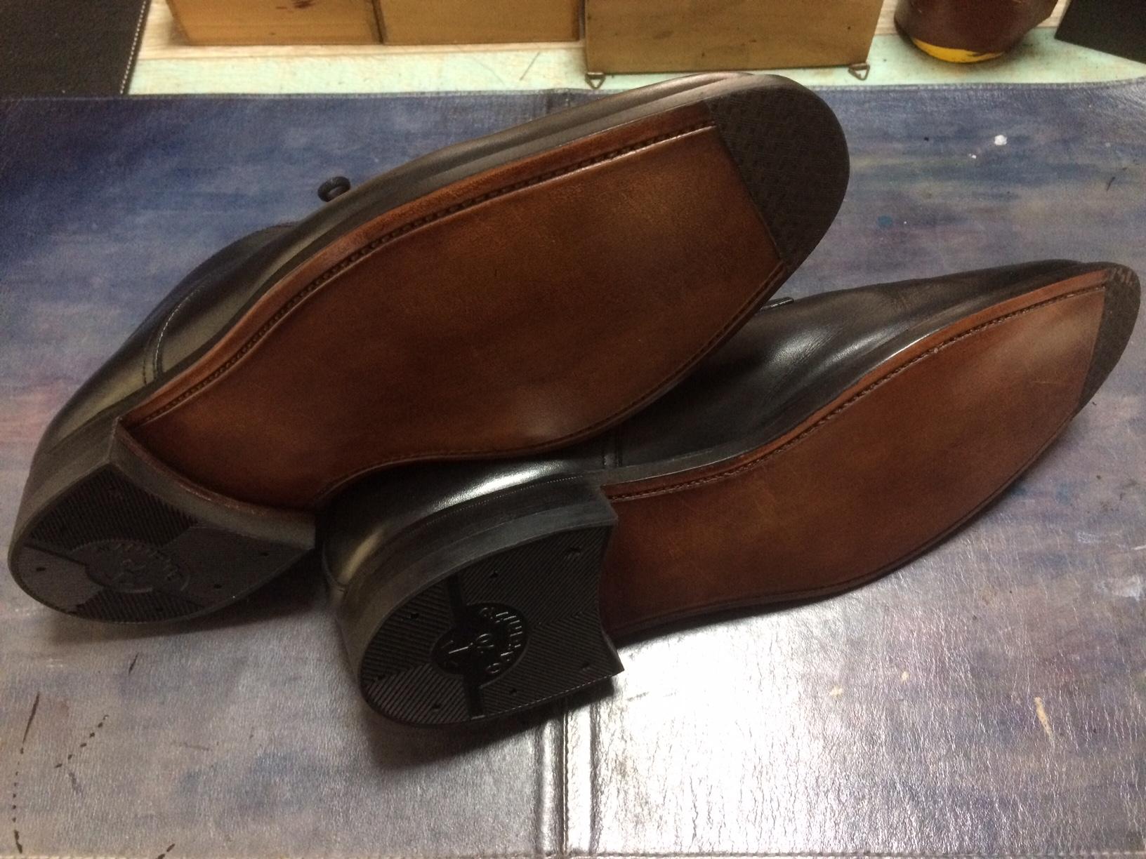 スコッチグレイン 靴修理 オールソール