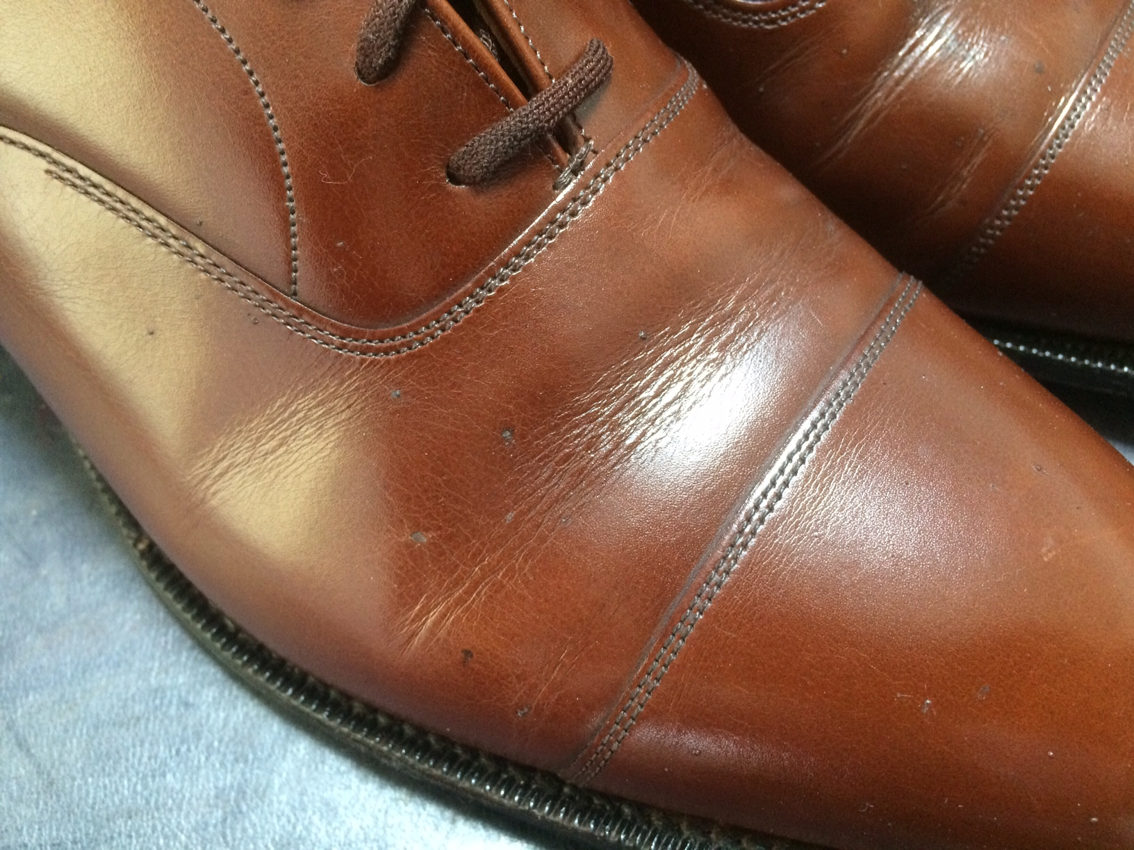 チャーチ 靴 染め替え