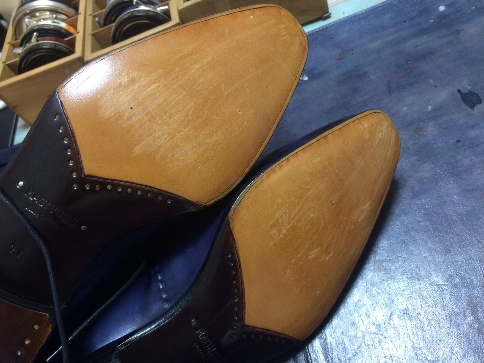 マグナーニ 靴修理 すべり止め