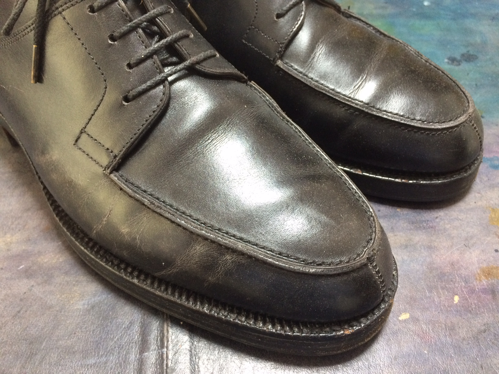 ジョンロブ 靴 染め直し