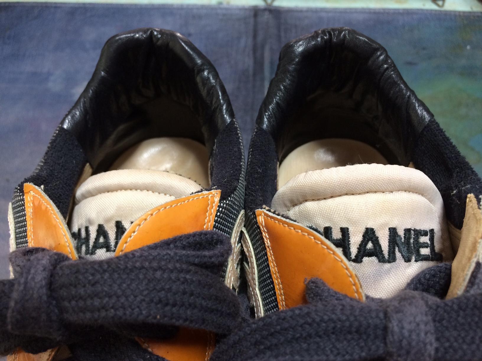シャネル スニーカー 靴修理