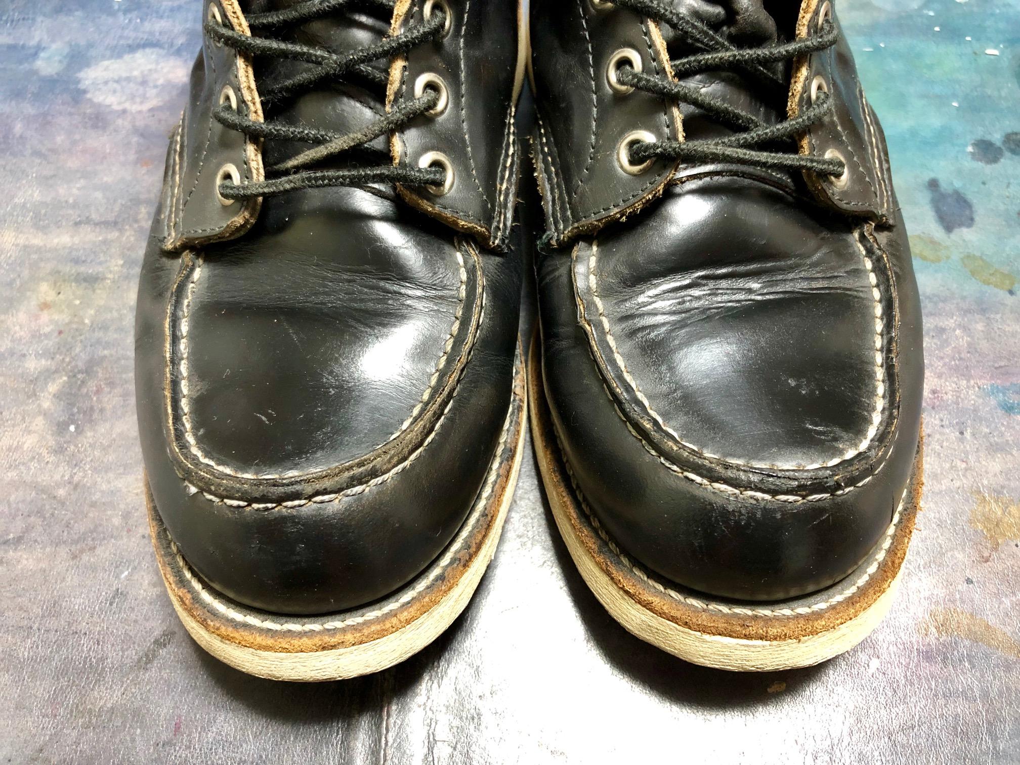 レッドウィング お手入れ 靴磨き