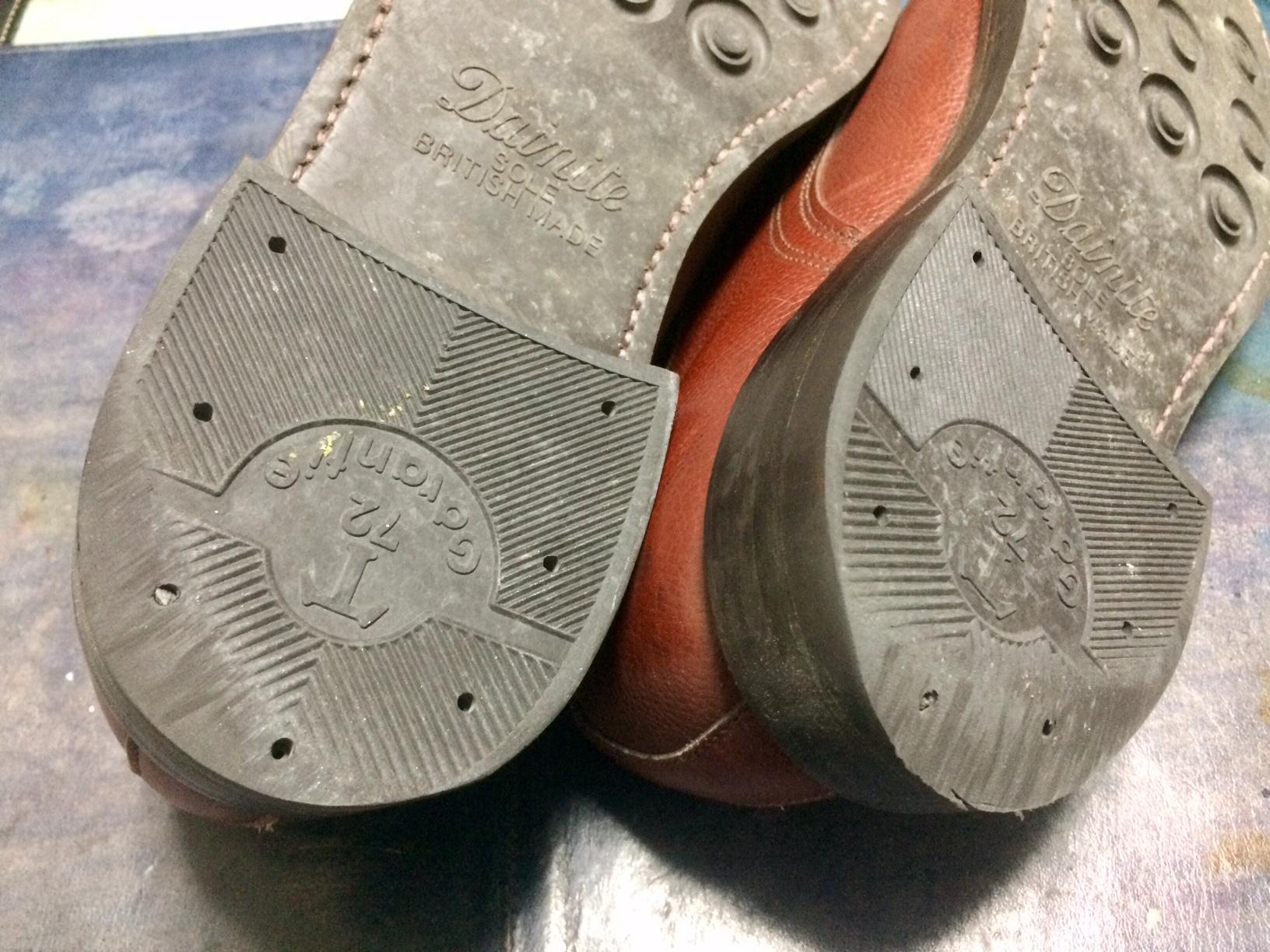 靴 修理 かかと直し