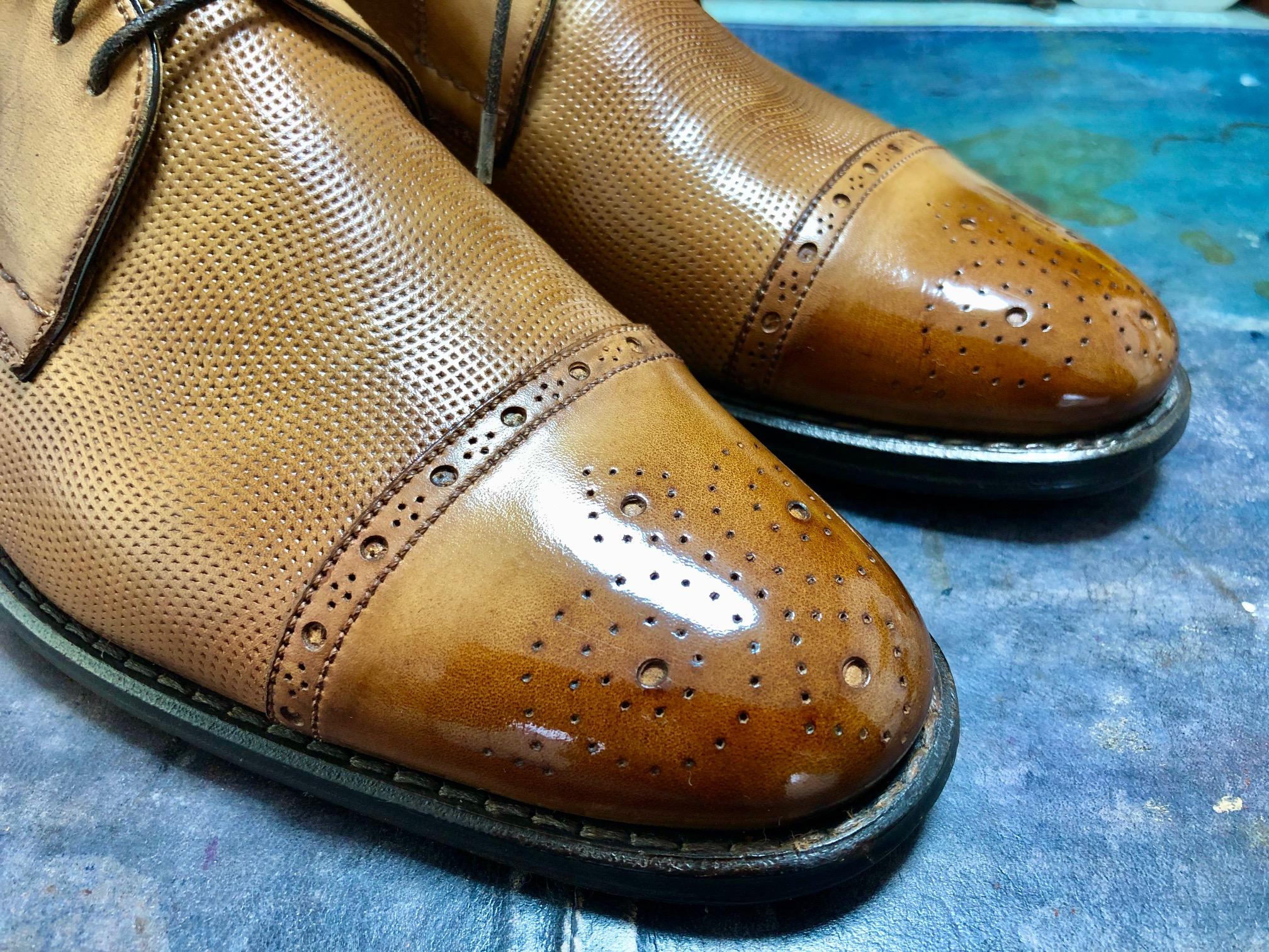 靴磨きワックス ハイシャイン