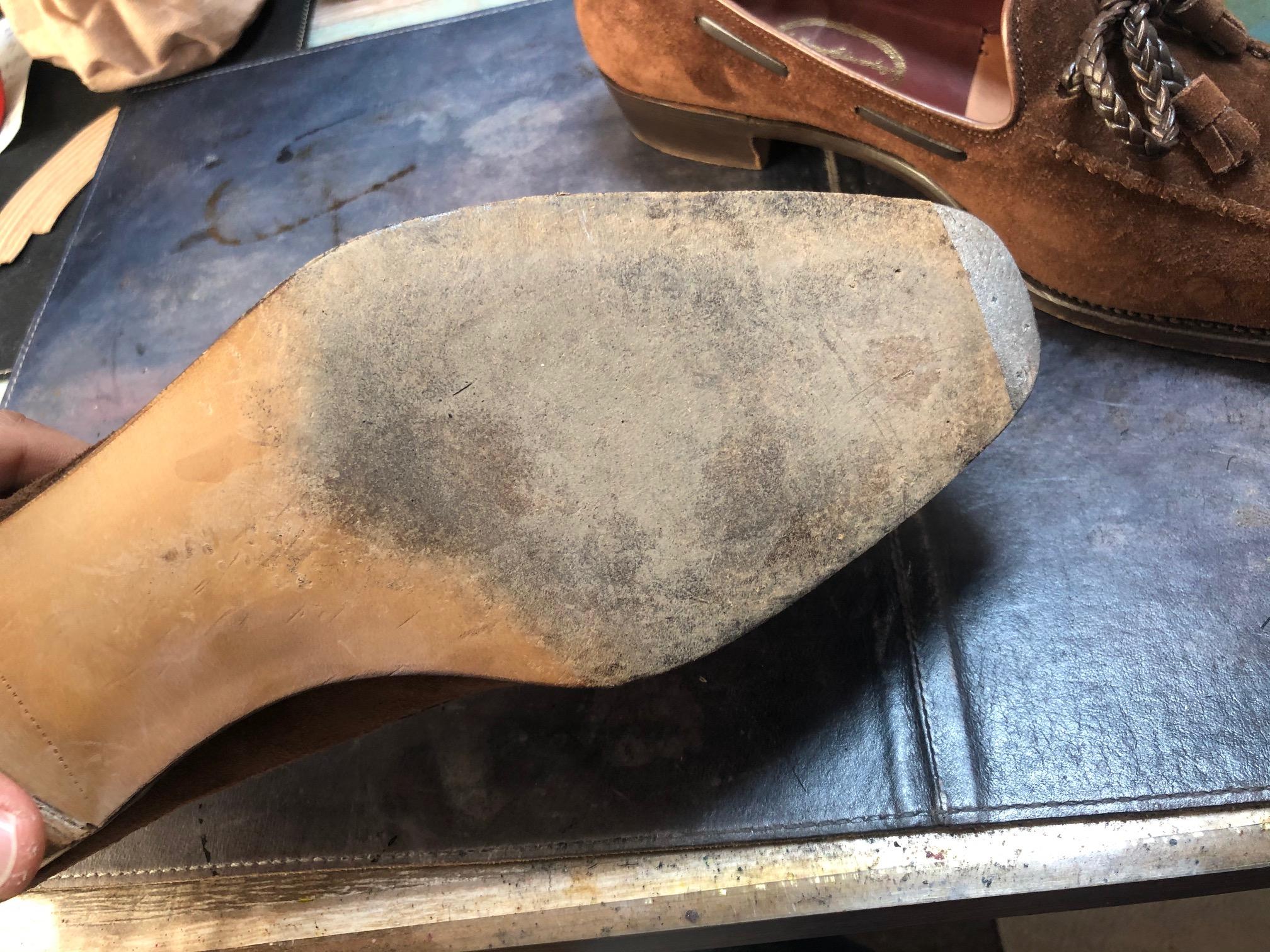 靴修理 アンソニークレバリー