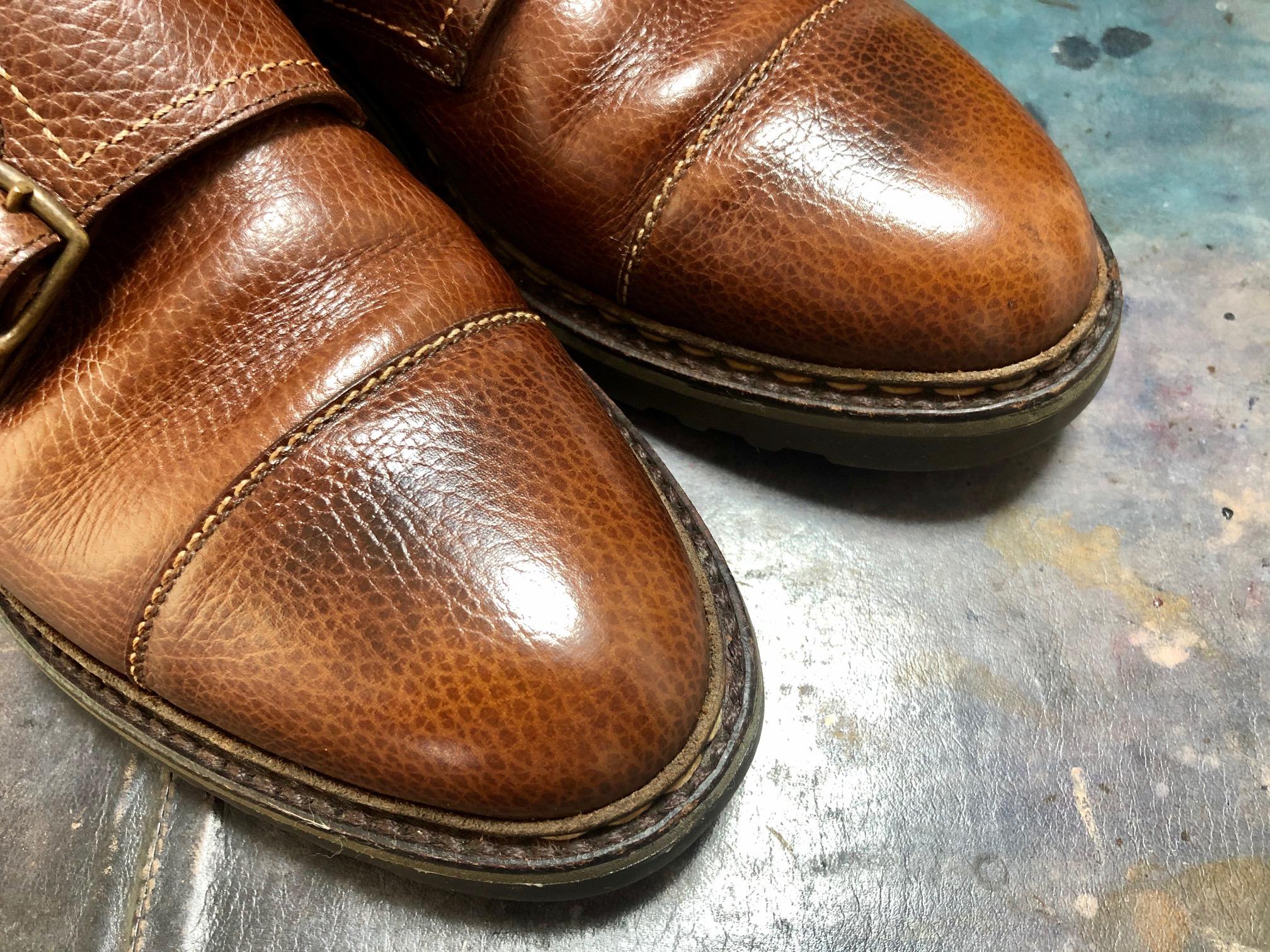 ジョンロブ ウィリアム 靴磨き