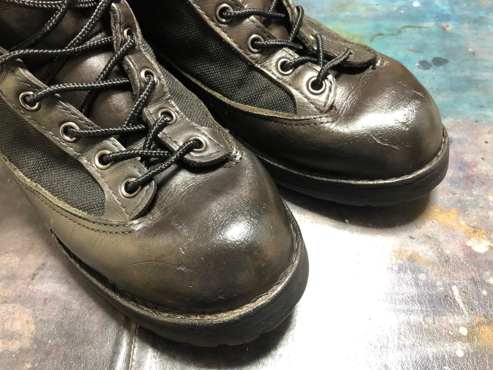 ダナー お手入れ 靴磨き