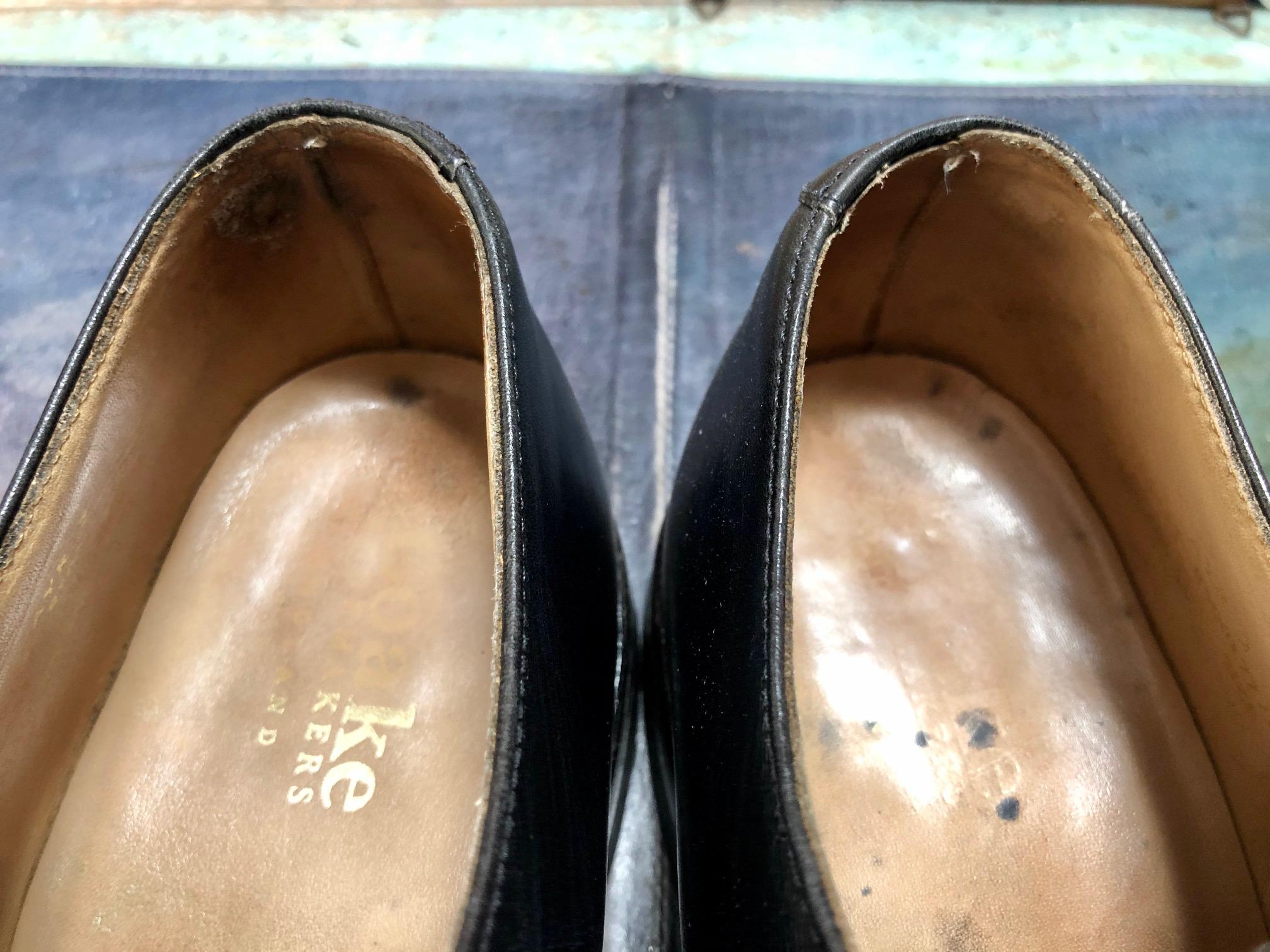 靴修理 すべり革修理