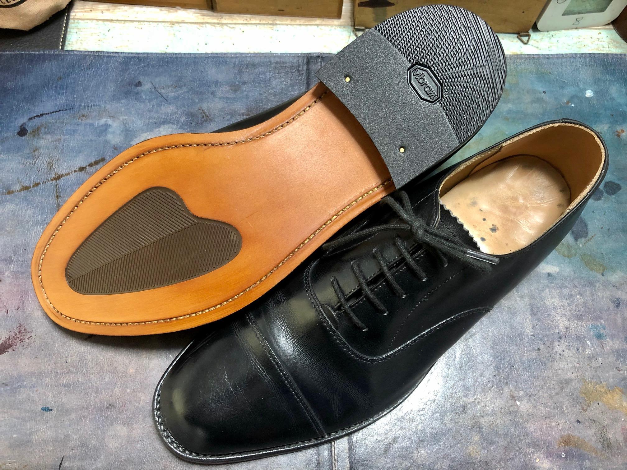 靴修理 オールソール