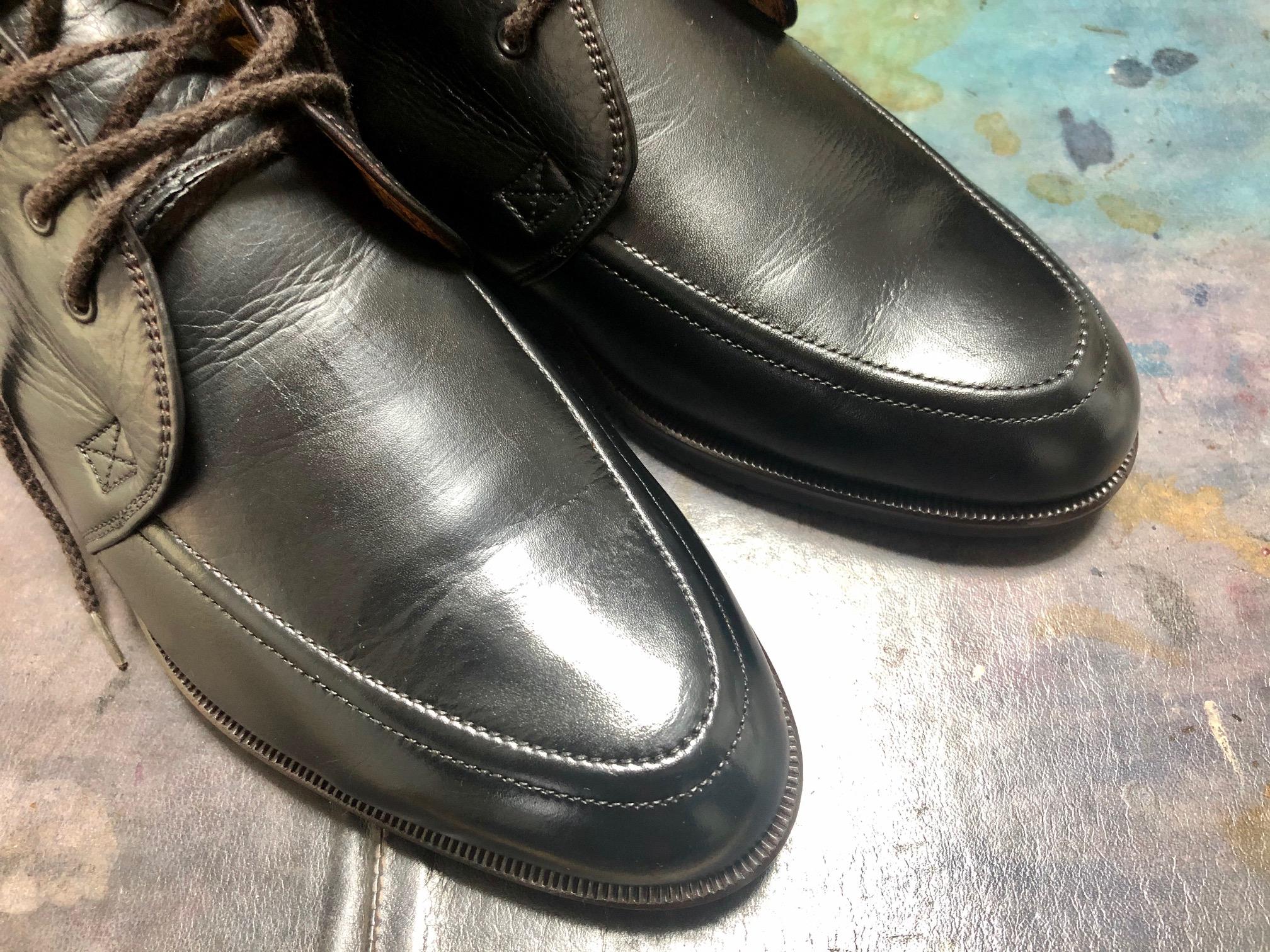 ブーツ 染め替え メンズ