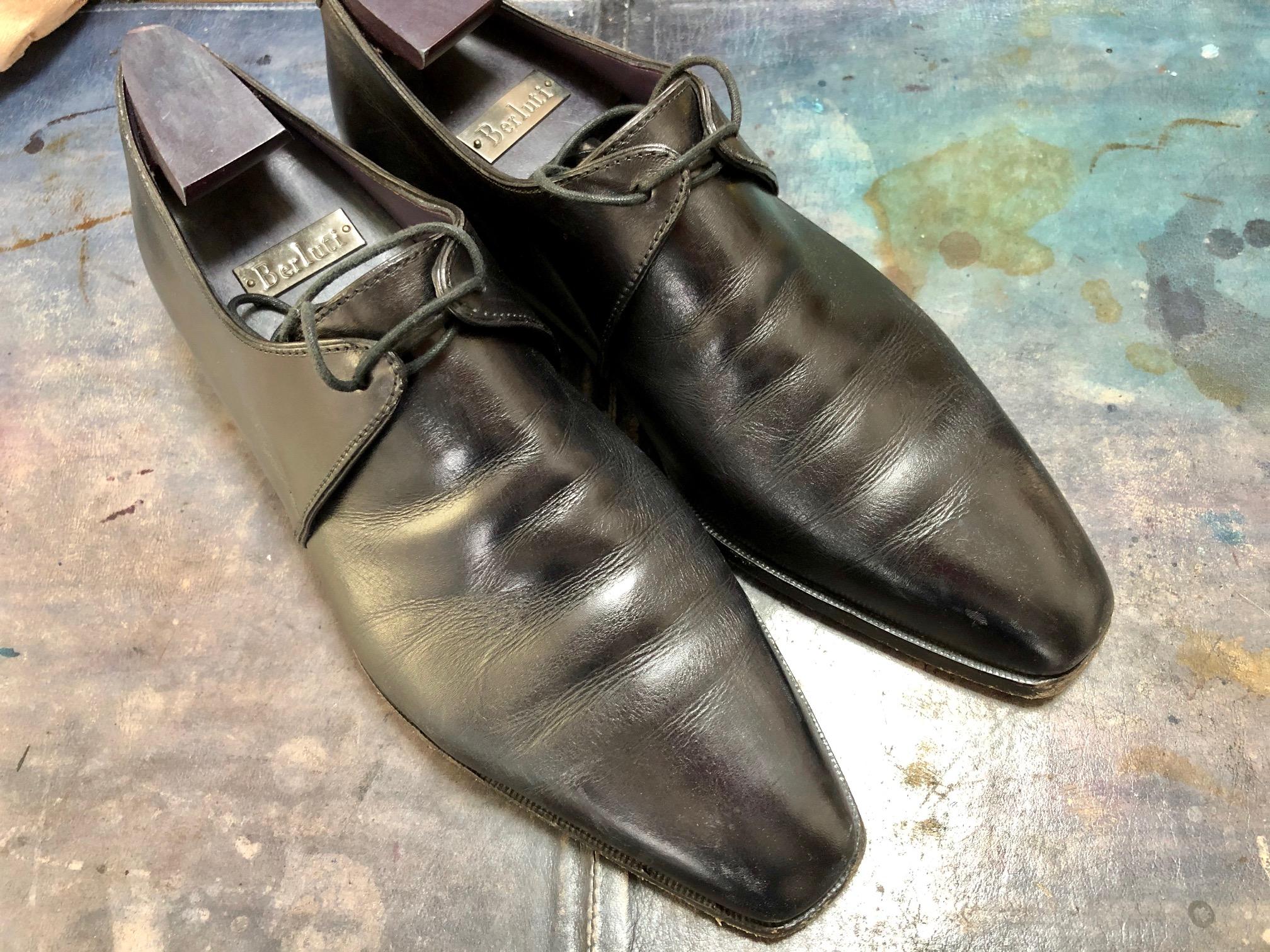 ベルルッティ 靴 お手入れ