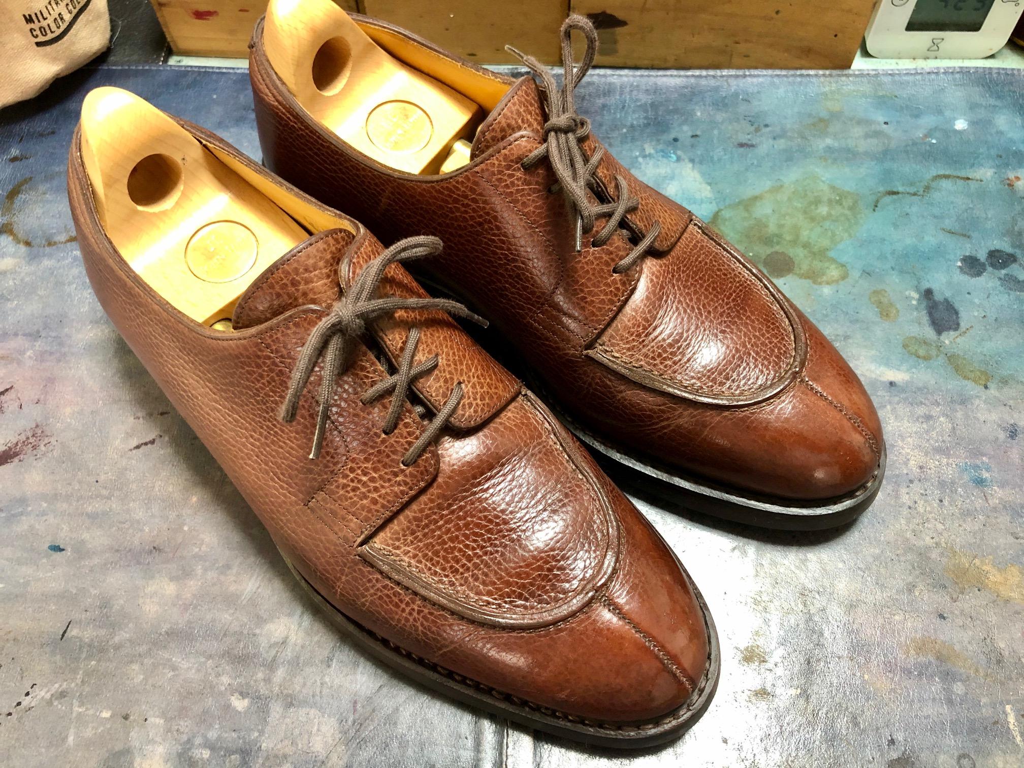 ジョンロブ 靴修理 オールソール