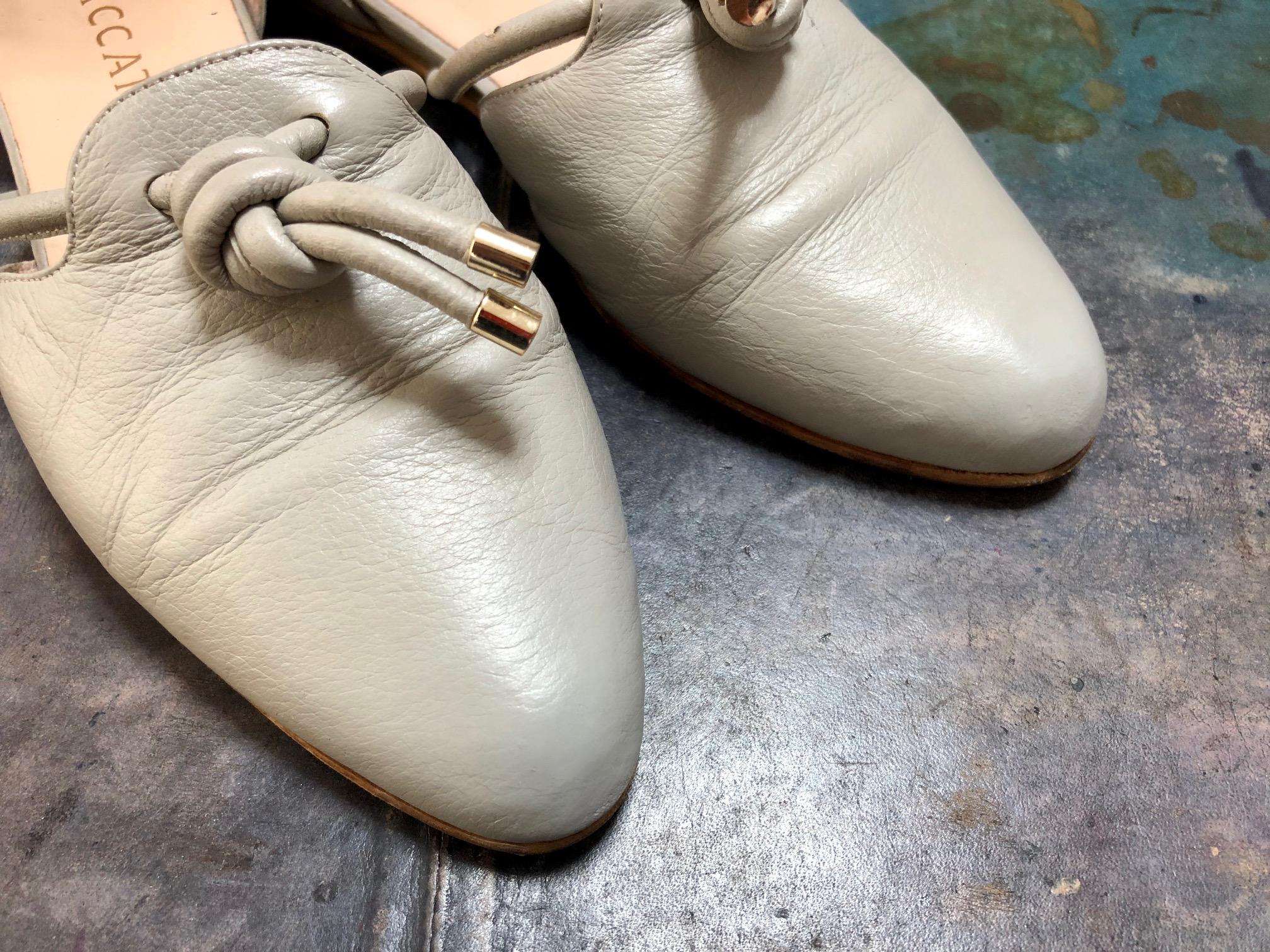 婦人靴 パンプス キズ直し