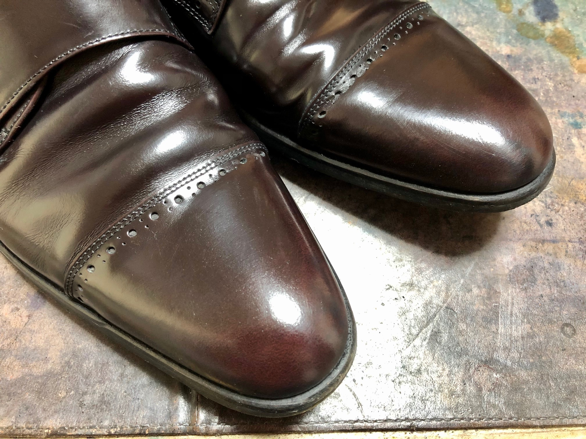 革靴 カビ クリーニング