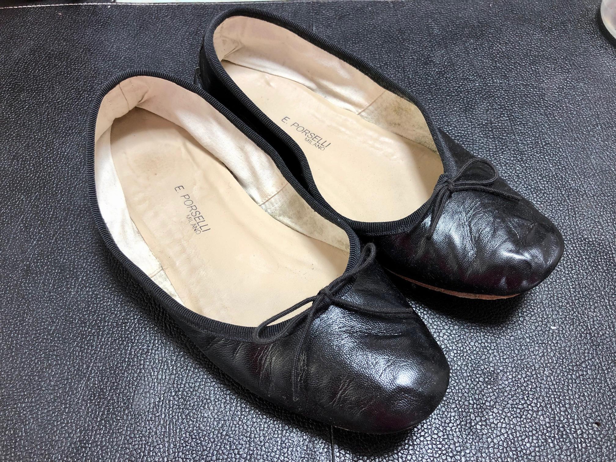 靴が笑う 履き口 トップライン 整形